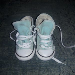 Converse Teal or Mint Green Size 7 shoes